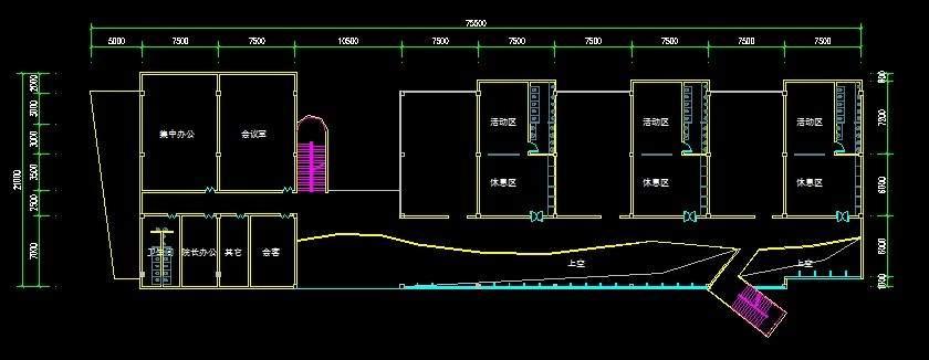 洛阳世纪华阳幼儿园平面图