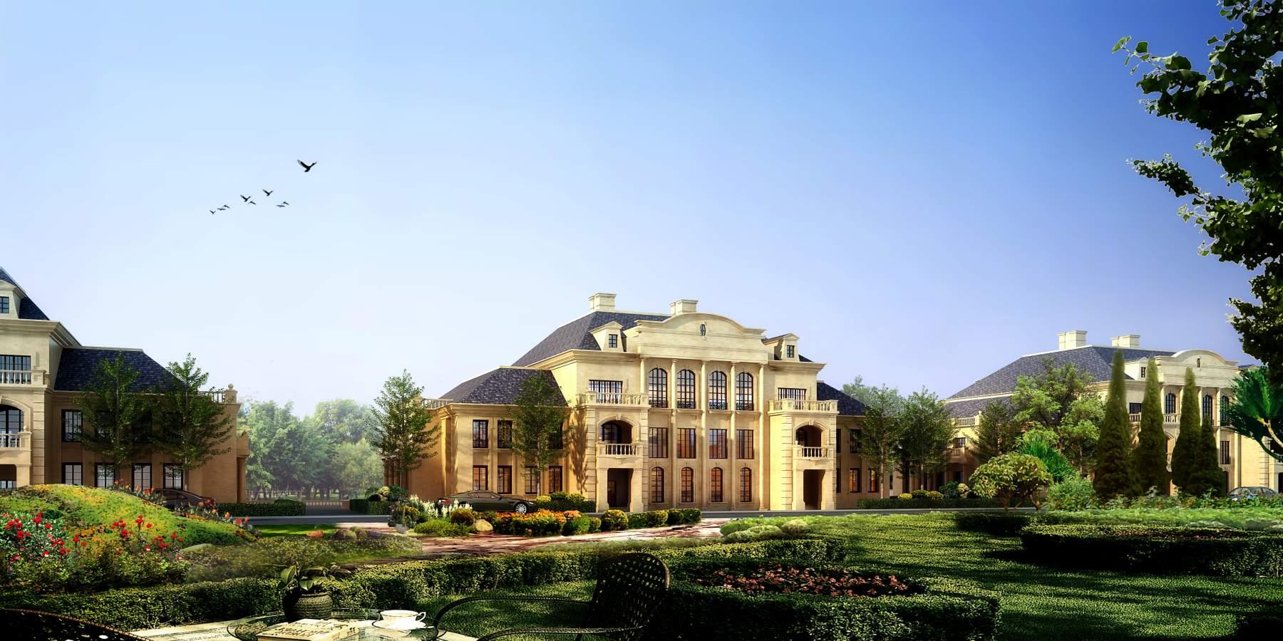法式大别墅