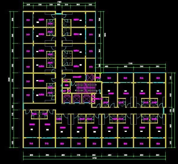 现代高层住宅1号,10号楼