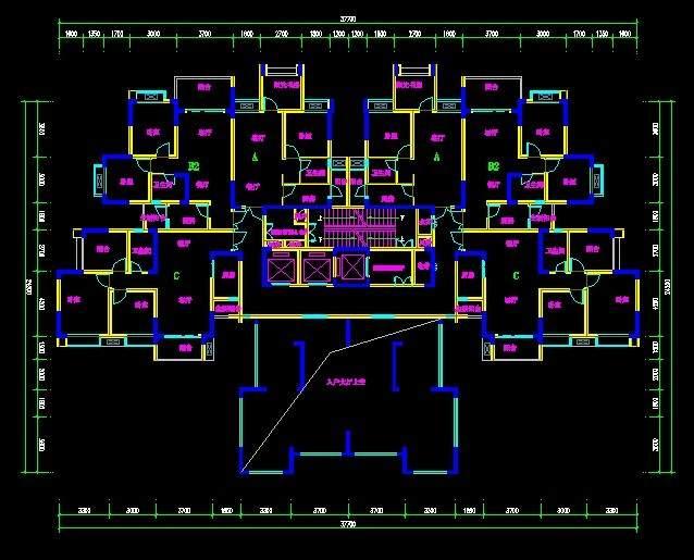 现代高层5-8号楼