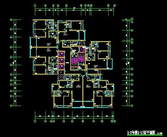 长嘉汇高层住宅1-3号楼