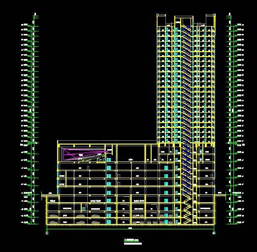 巴南商业一号楼高层住宅