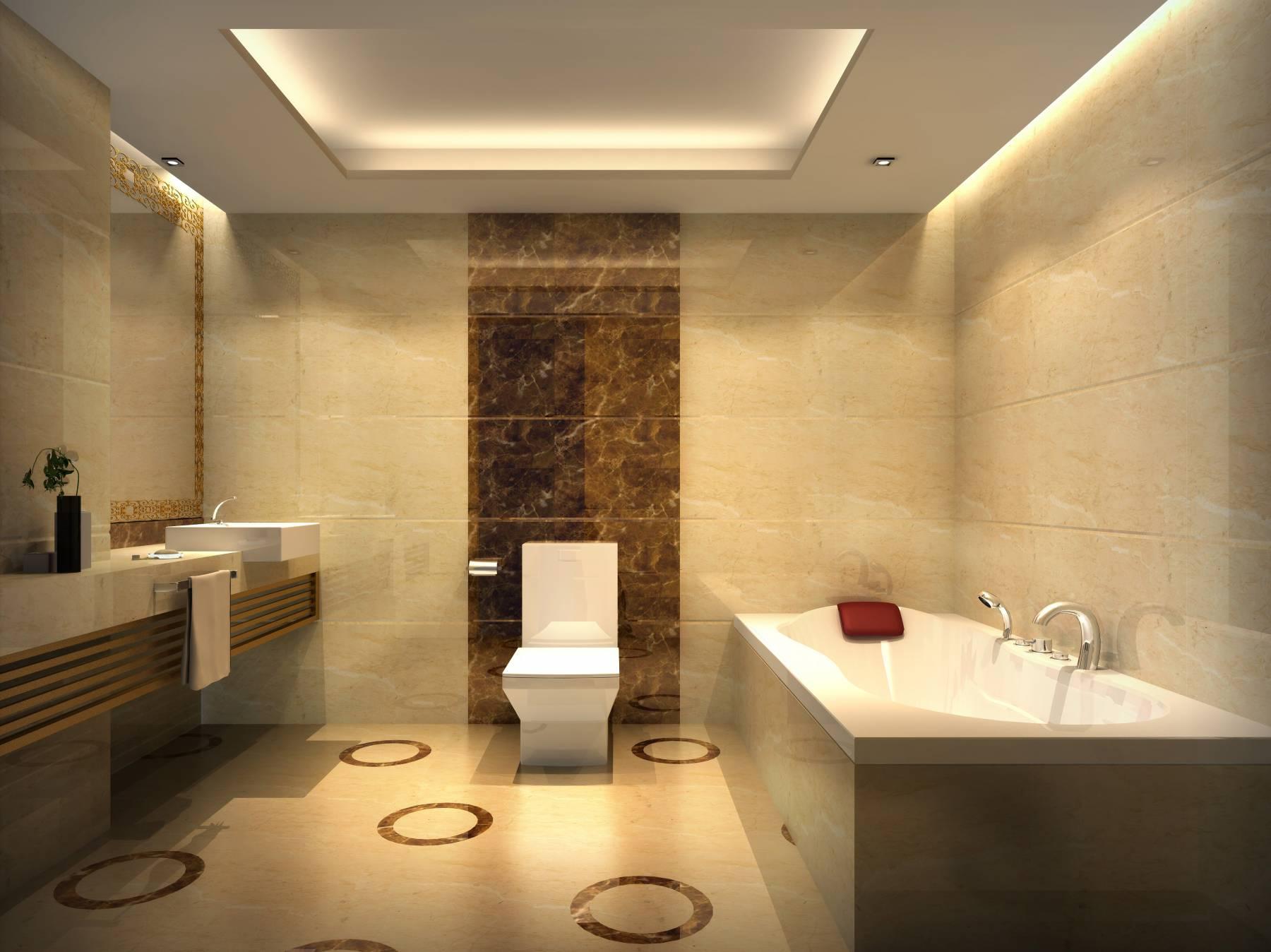 酒店套房--卫生间