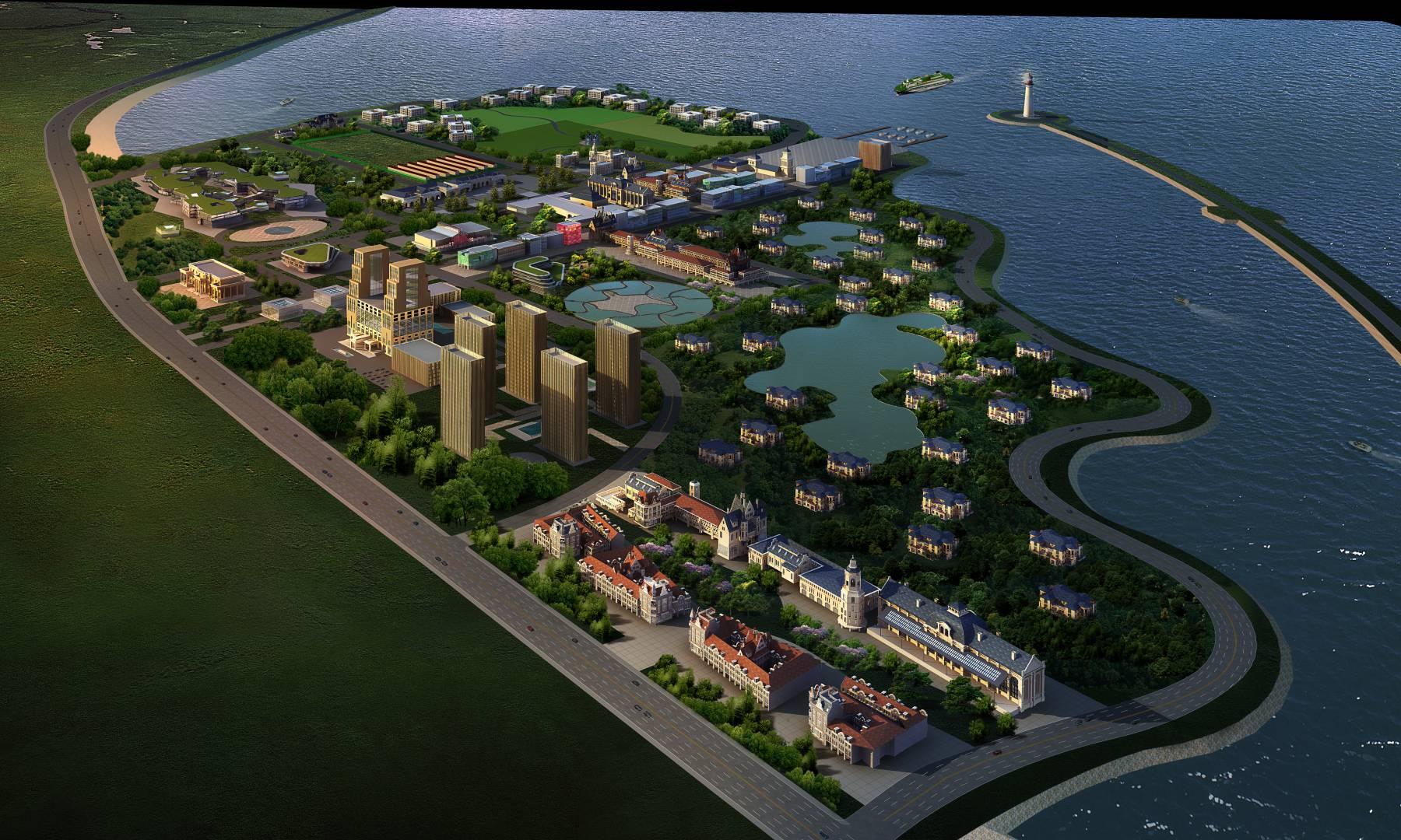 龙栖湾--城市规划