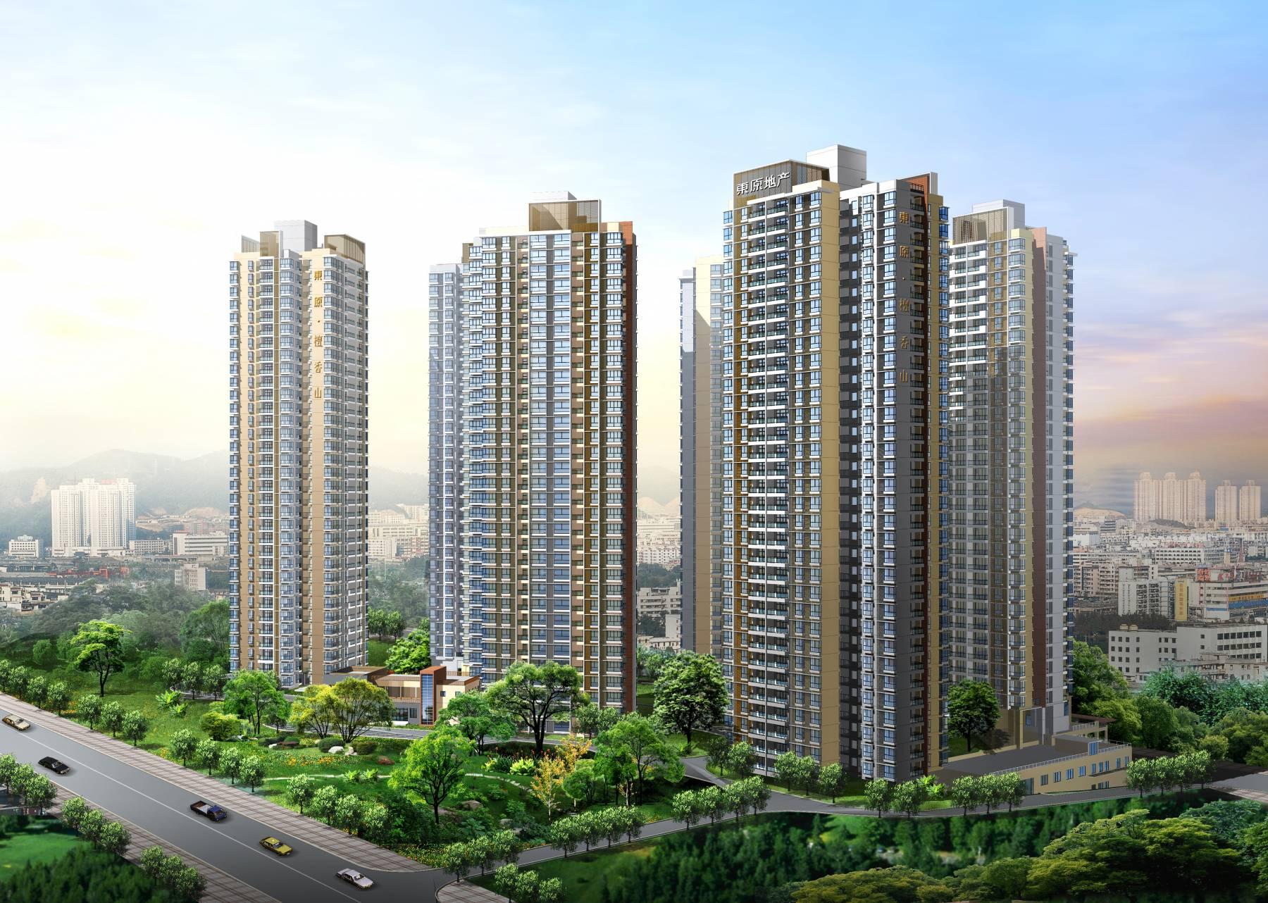现代高层住宅小区