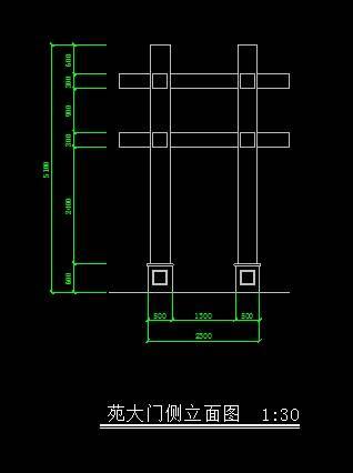 中式仿古大门4