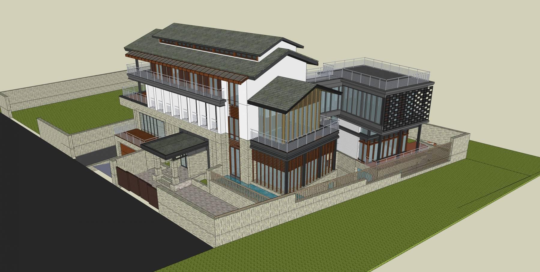 新中式独栋别墅
