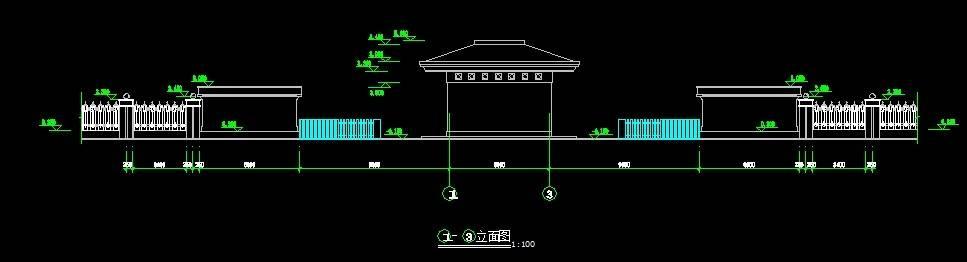 中式仿古大门12