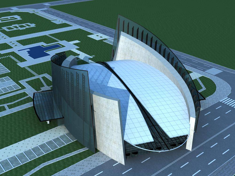 现代体育馆