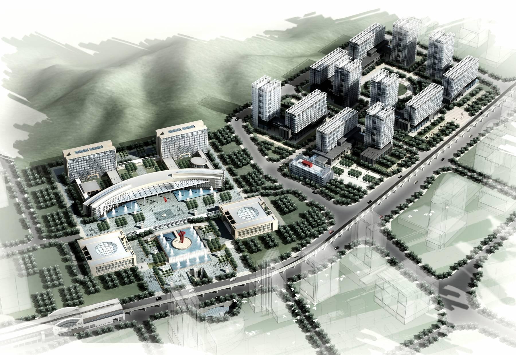 现代行政广场