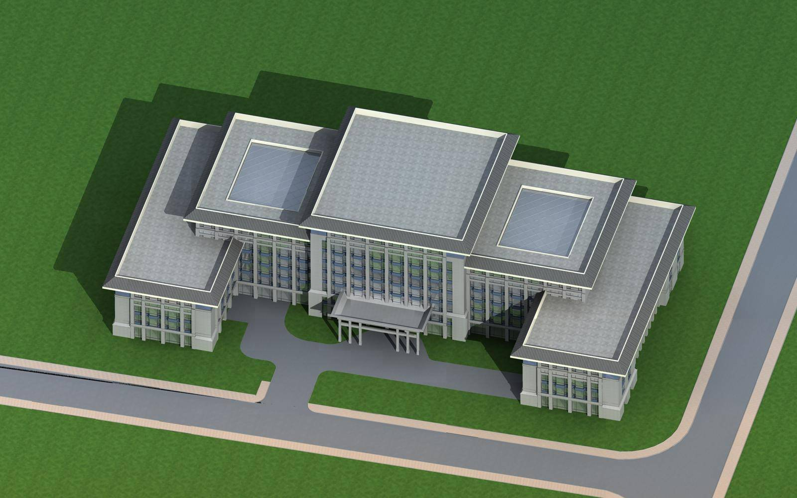新古典风格办公楼