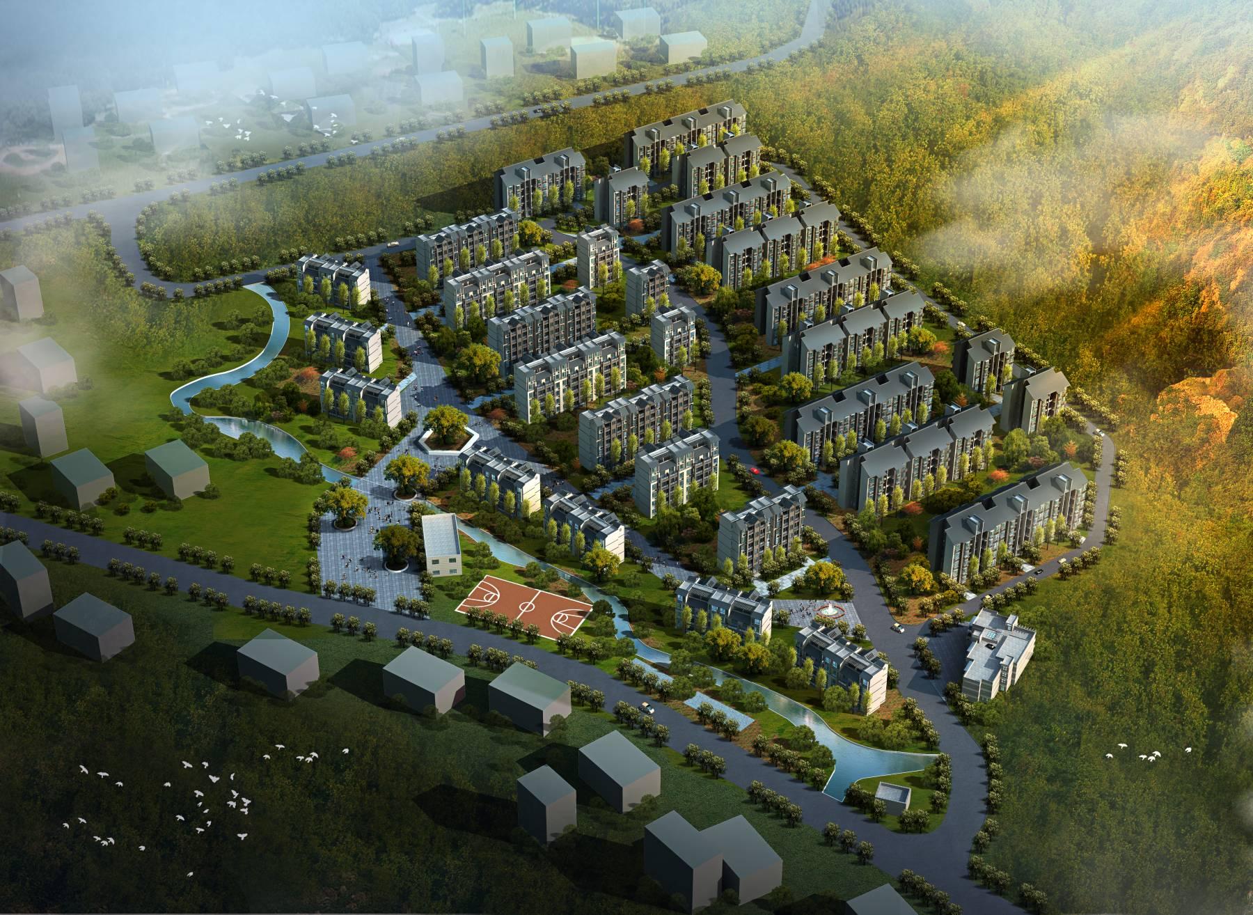 古林村规划
