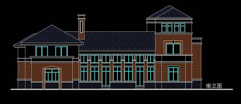 北美风格9号别墅