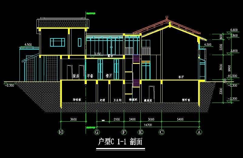东山别墅C型