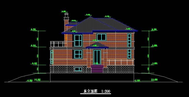 北美风格21号别墅