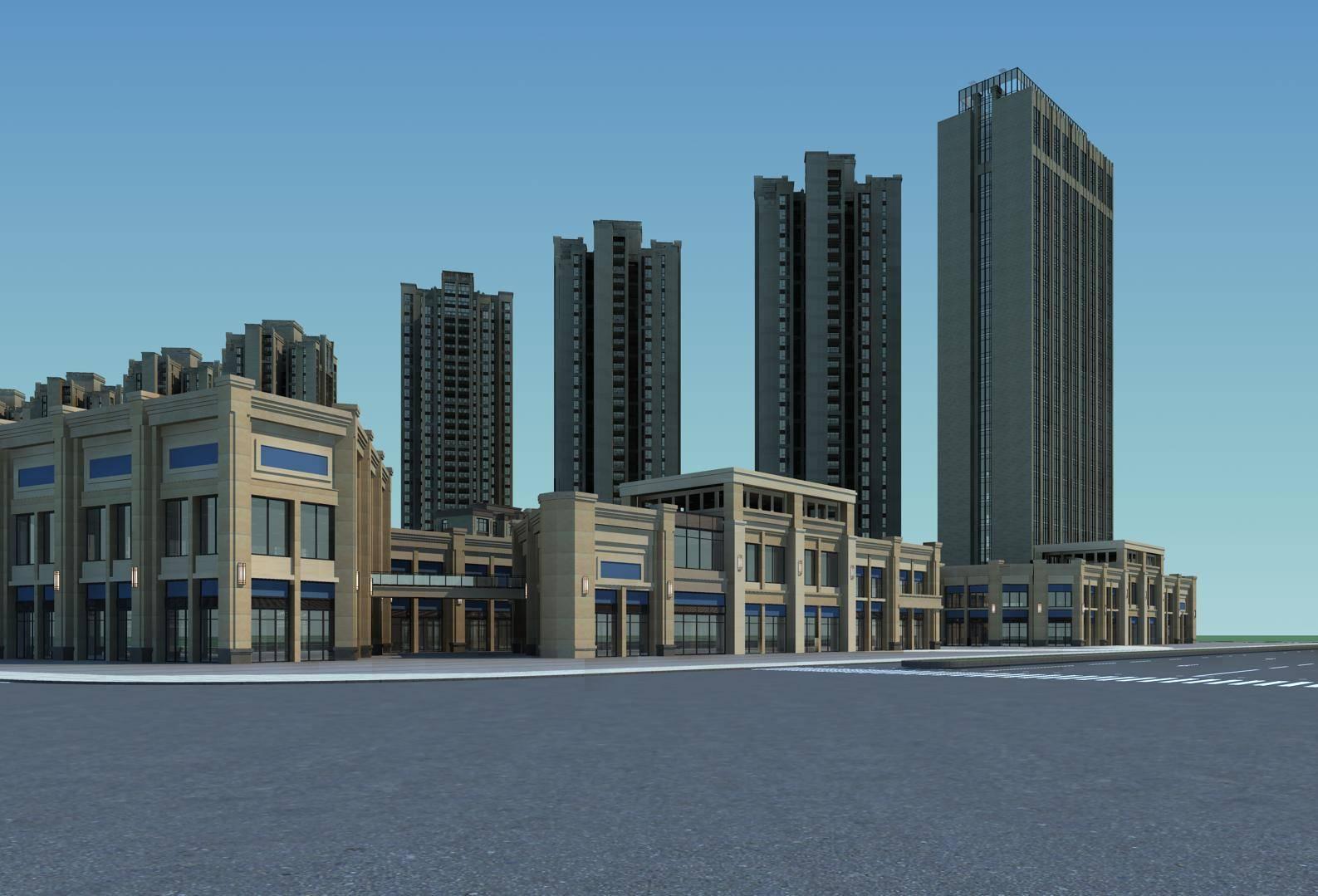 新古典住宅小区