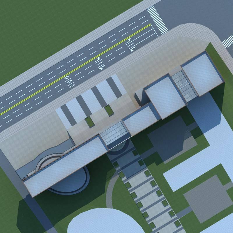 现代教学楼