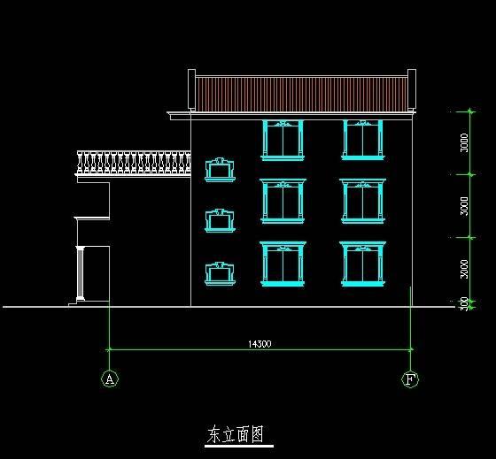 北美风格C型别墅