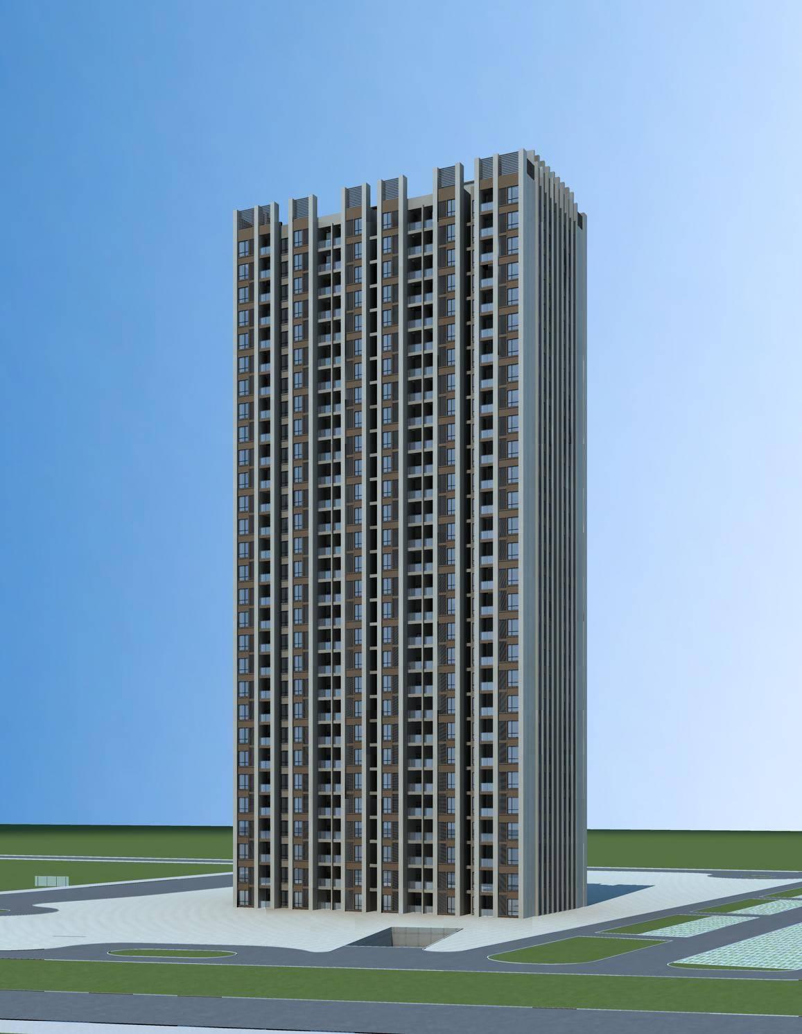 新古典高层住宅楼