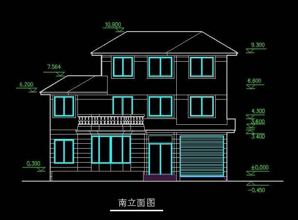 北美风格A型别墅