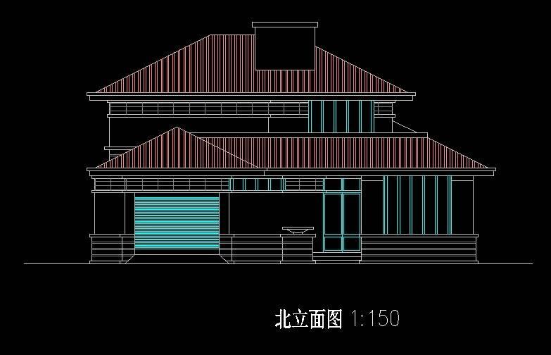 北美风格B4型别墅