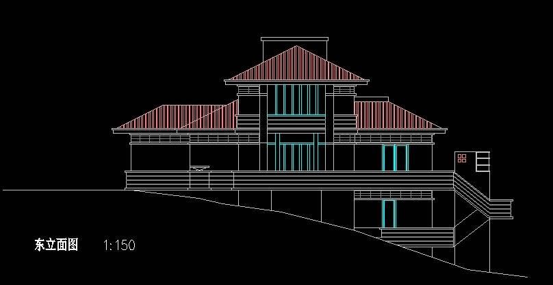 北美风格B3型别墅