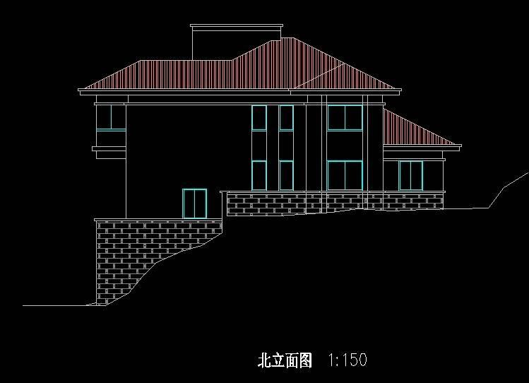北美风格C5型别墅