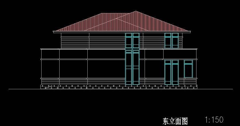 北美风格B2型别墅