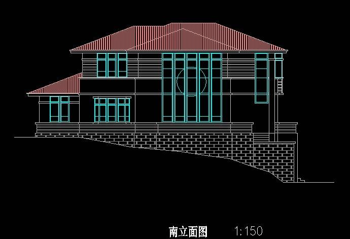 北美风格C2型别墅