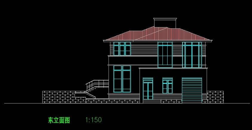 北美风格C3型别墅