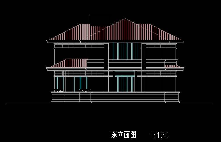 北美风格C6型别墅
