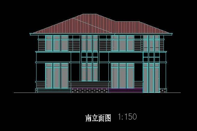 北美风格C4型别墅