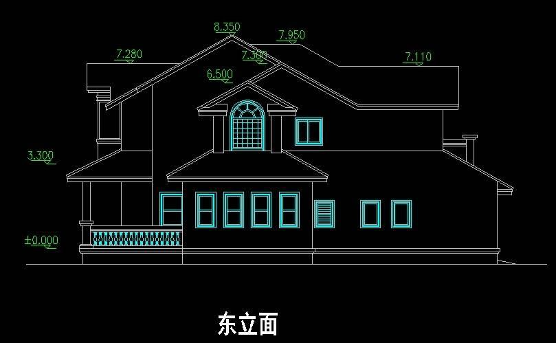 东方观潮苑1号别墅