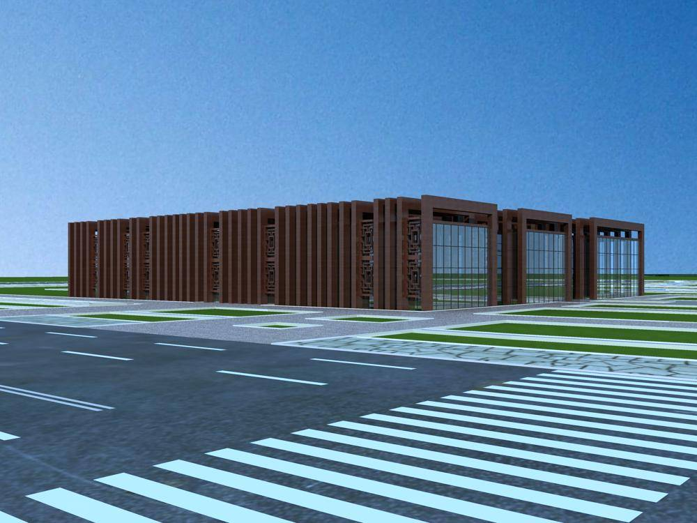新中式多功能厅