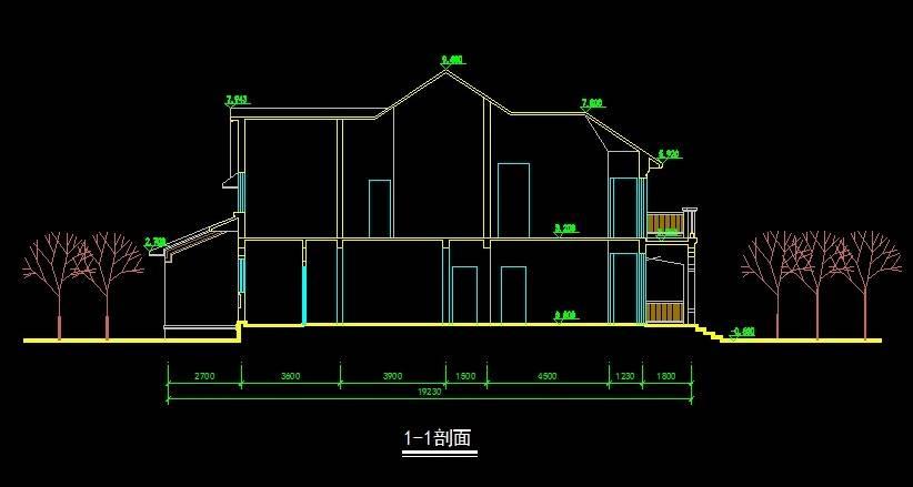 北美风格E1型别墅