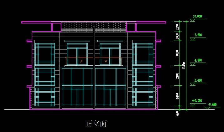 江阴名豪山庄A1型别墅