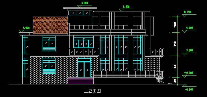 江阴名豪山庄H型别墅