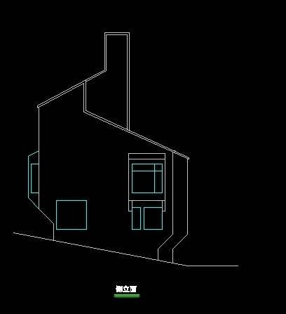 现代风格双拼别墅