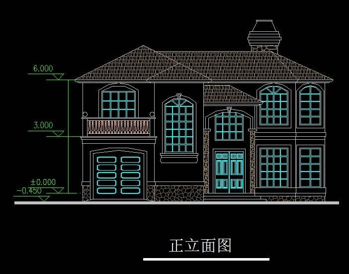 江阴名豪山庄D型别墅