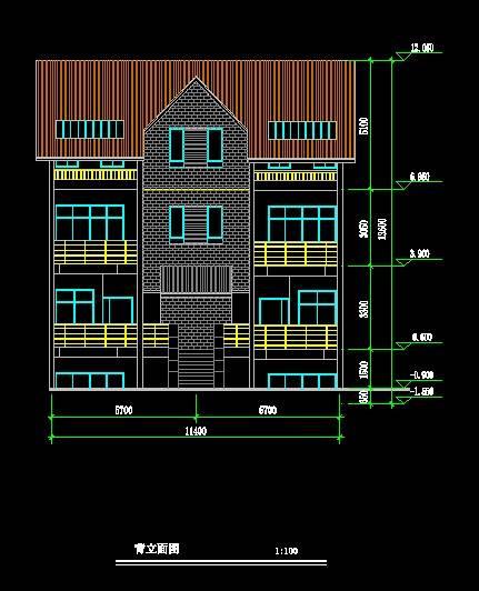 北美风格双拼别墅1
