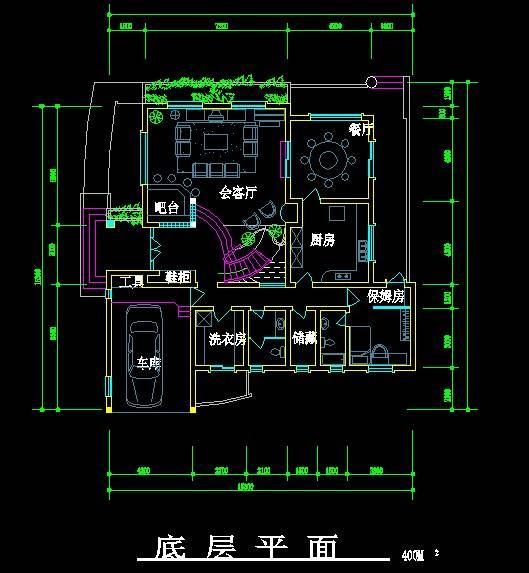 北美风格别墅设计方案1
