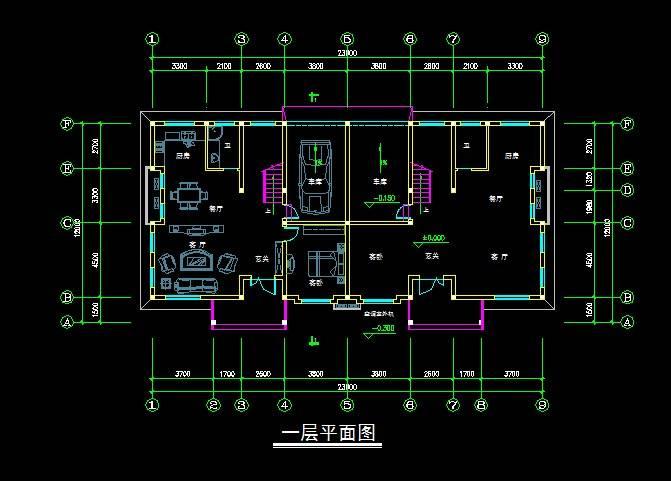村民住宅2号新中式双拼别墅