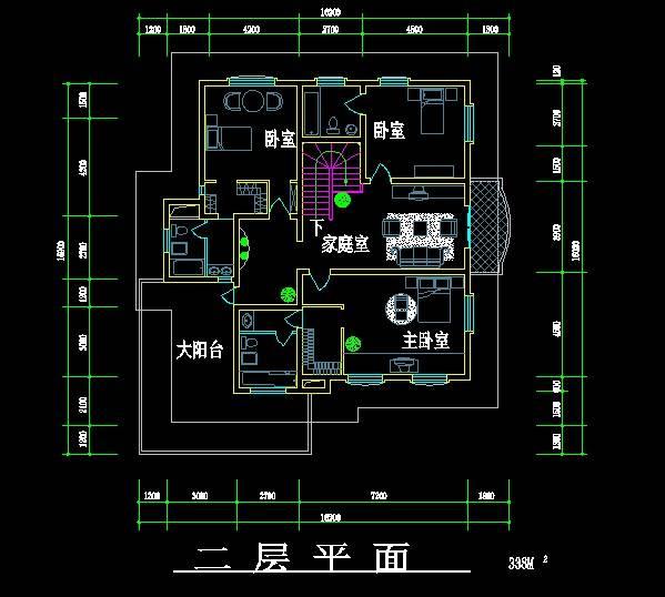 北美风格别墅设计方案2