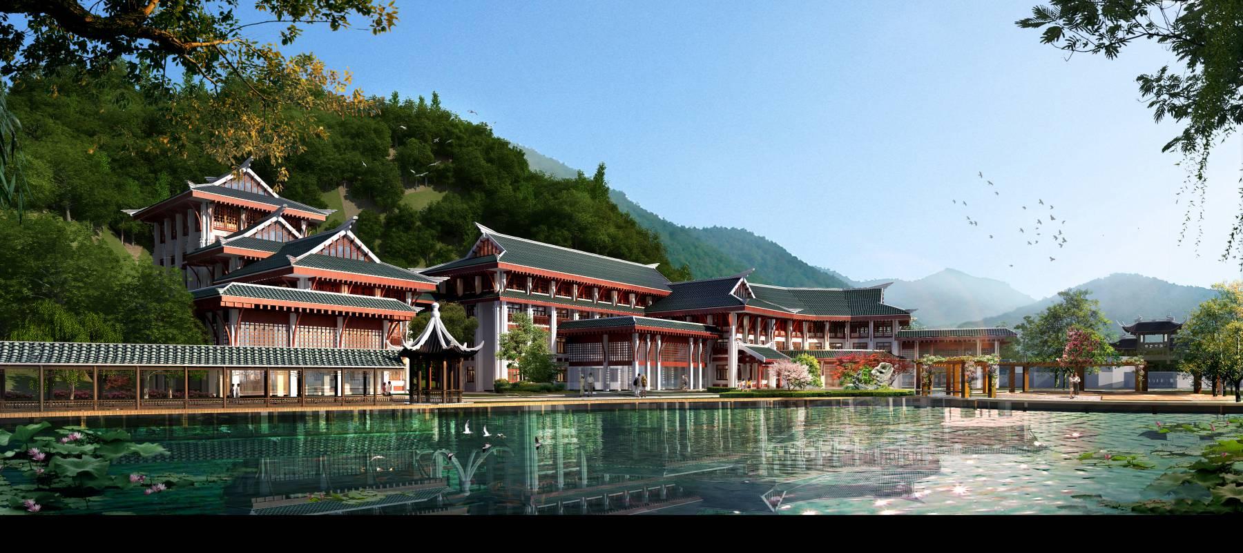 中式小酒楼