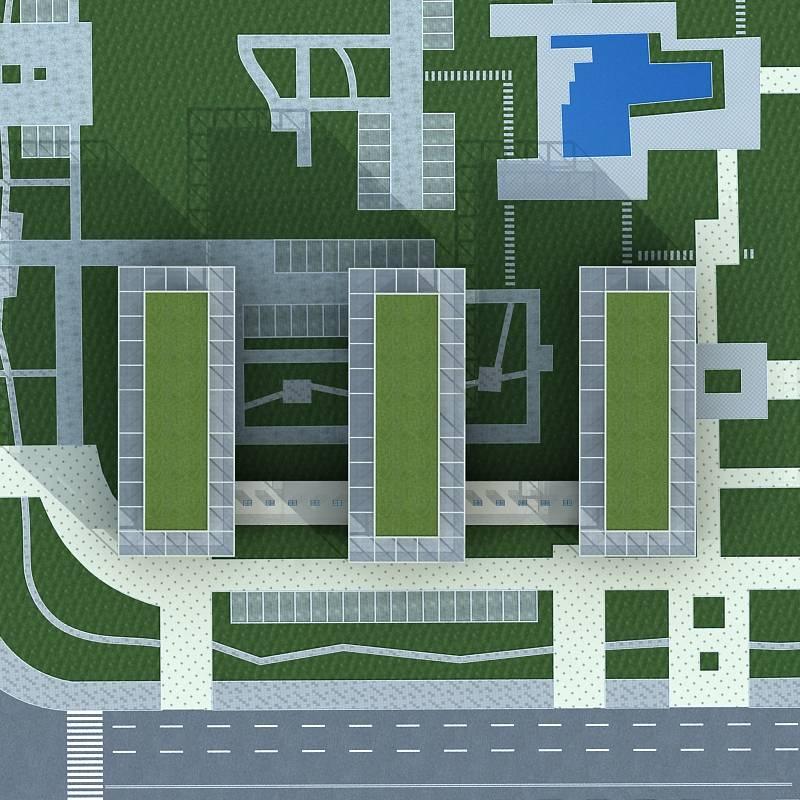 现代商业楼