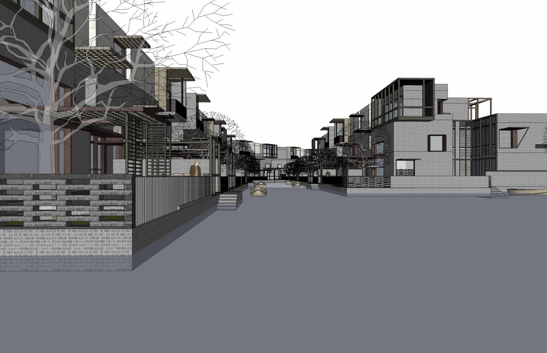 新中式别墅群