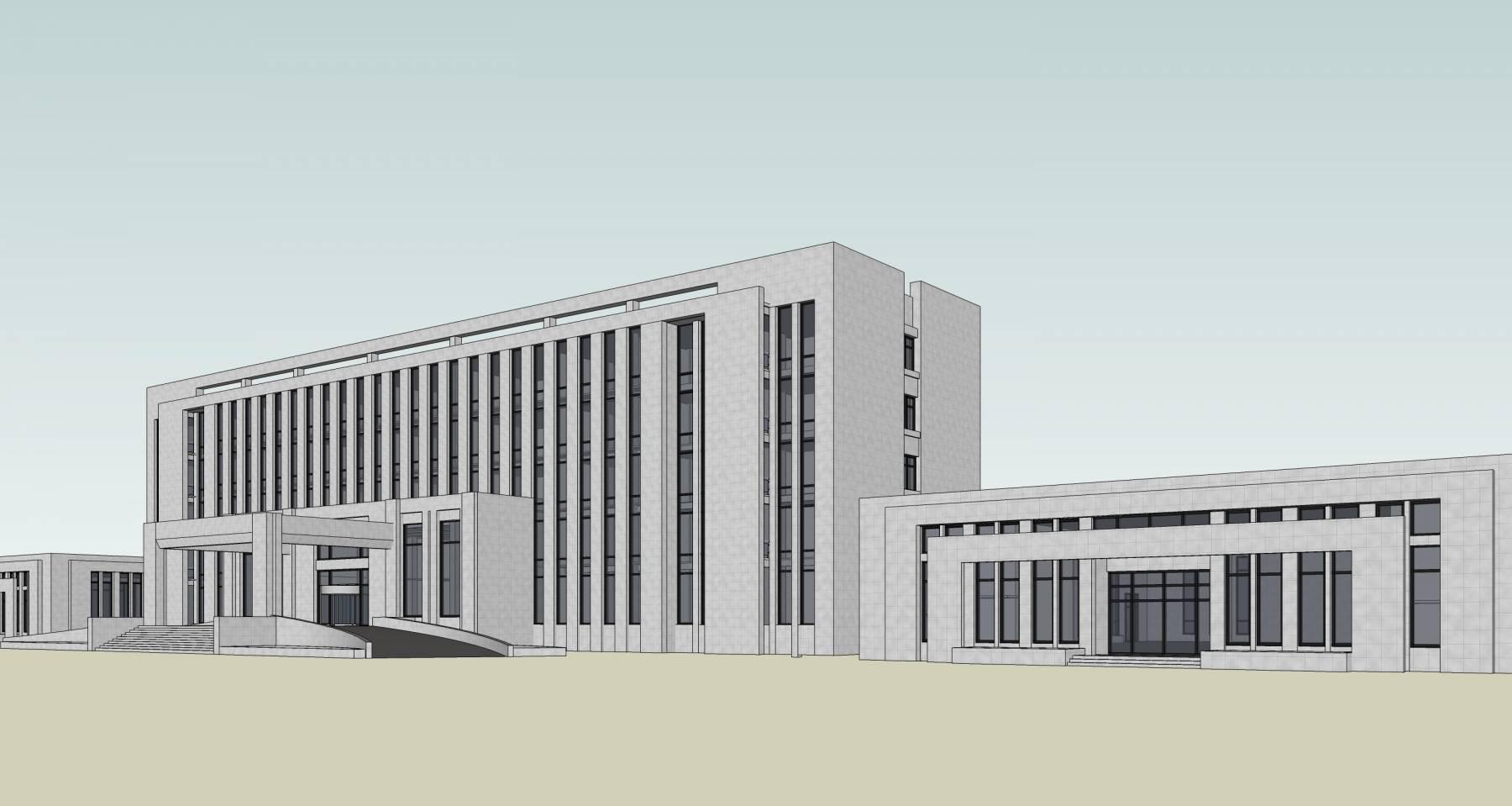 现代风格行政办公楼