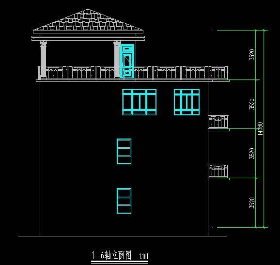 新中式住宅楼