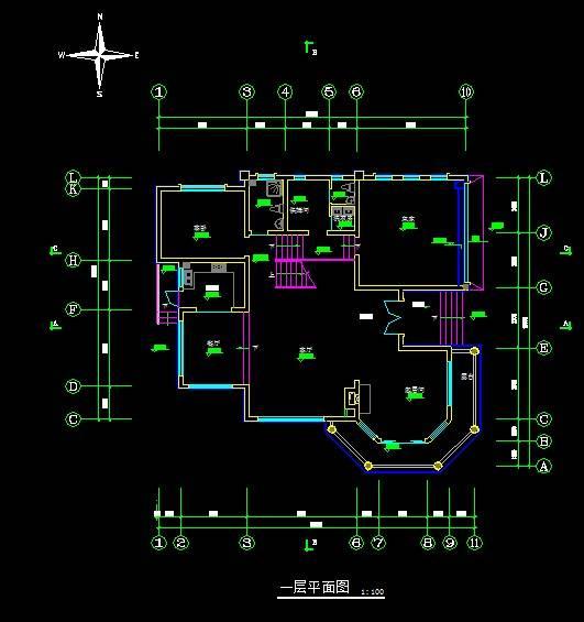 别墅设计方案三