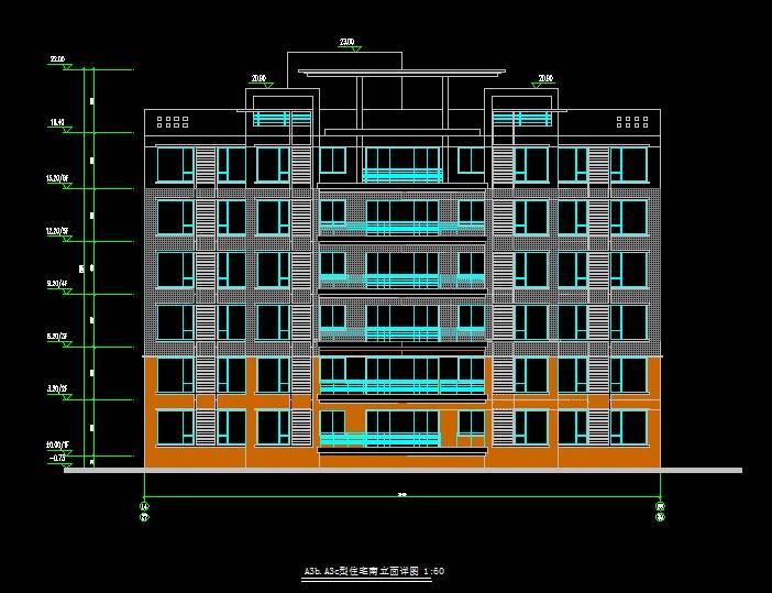 现代风格多层住宅